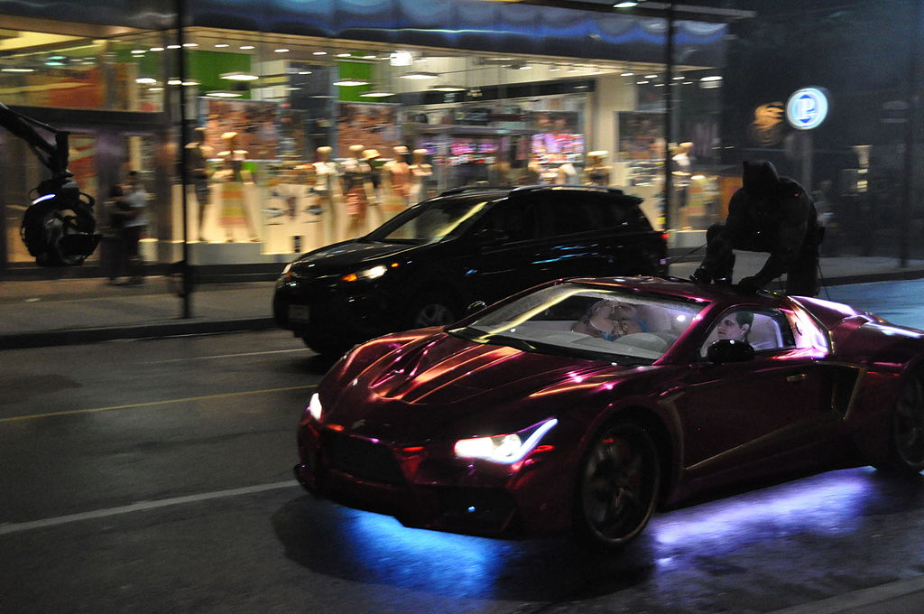 "Chase Sequence during filming of ""Suicide Squad"" in Toronto"